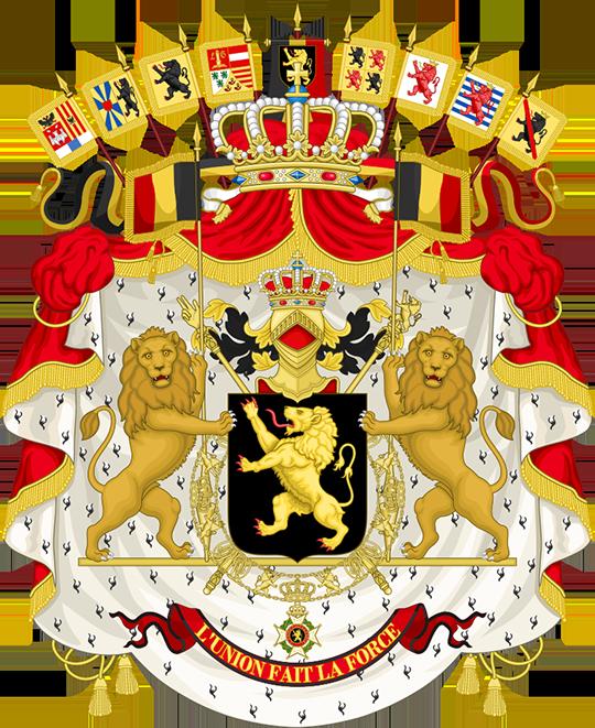 Герб Бельгия