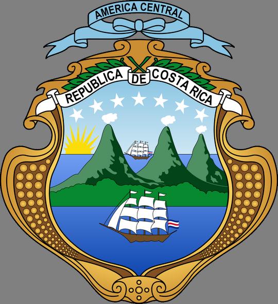 Герб Коста-Рика
