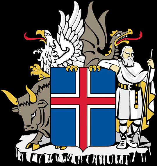 Герб Исландия