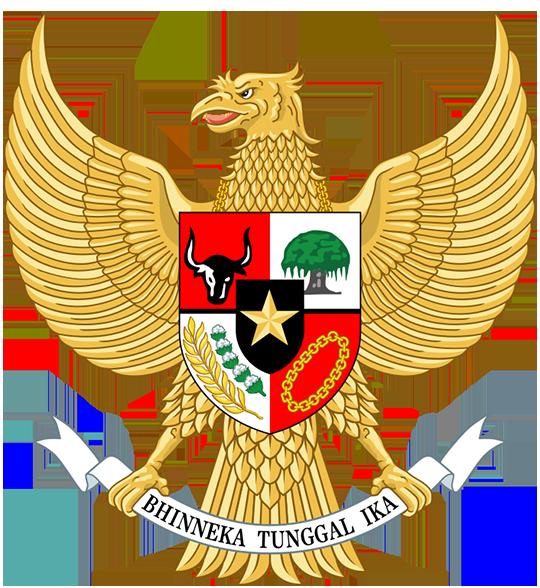 Герб Индонезия