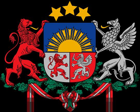 Герб Латвия