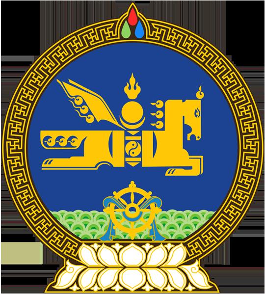 Герб Монголия