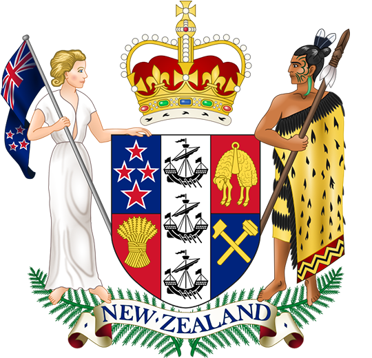 Герб Новая Зеландия
