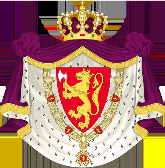 Герб Норвегия