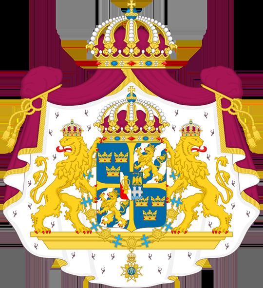 Герб Швеция