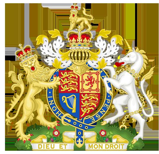 Герб Великобритания