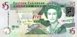 5 долларов