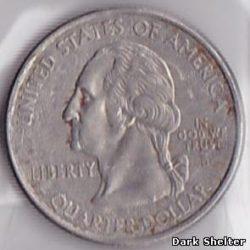 ¼ доллара — штат Арканзас
