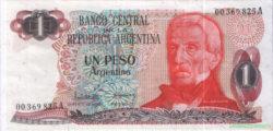 1 песо