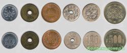 Особенности монет Японии